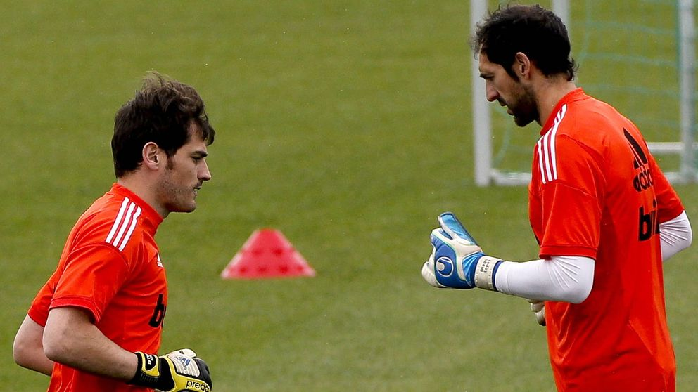 El lío entre Casillas y Diego López levanta dolor de cabeza a Florentino