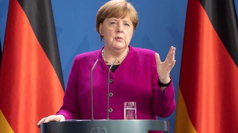 El pantone de Angela Merkel esta cuarentena: una chaqueta, 8 colores, mismo look