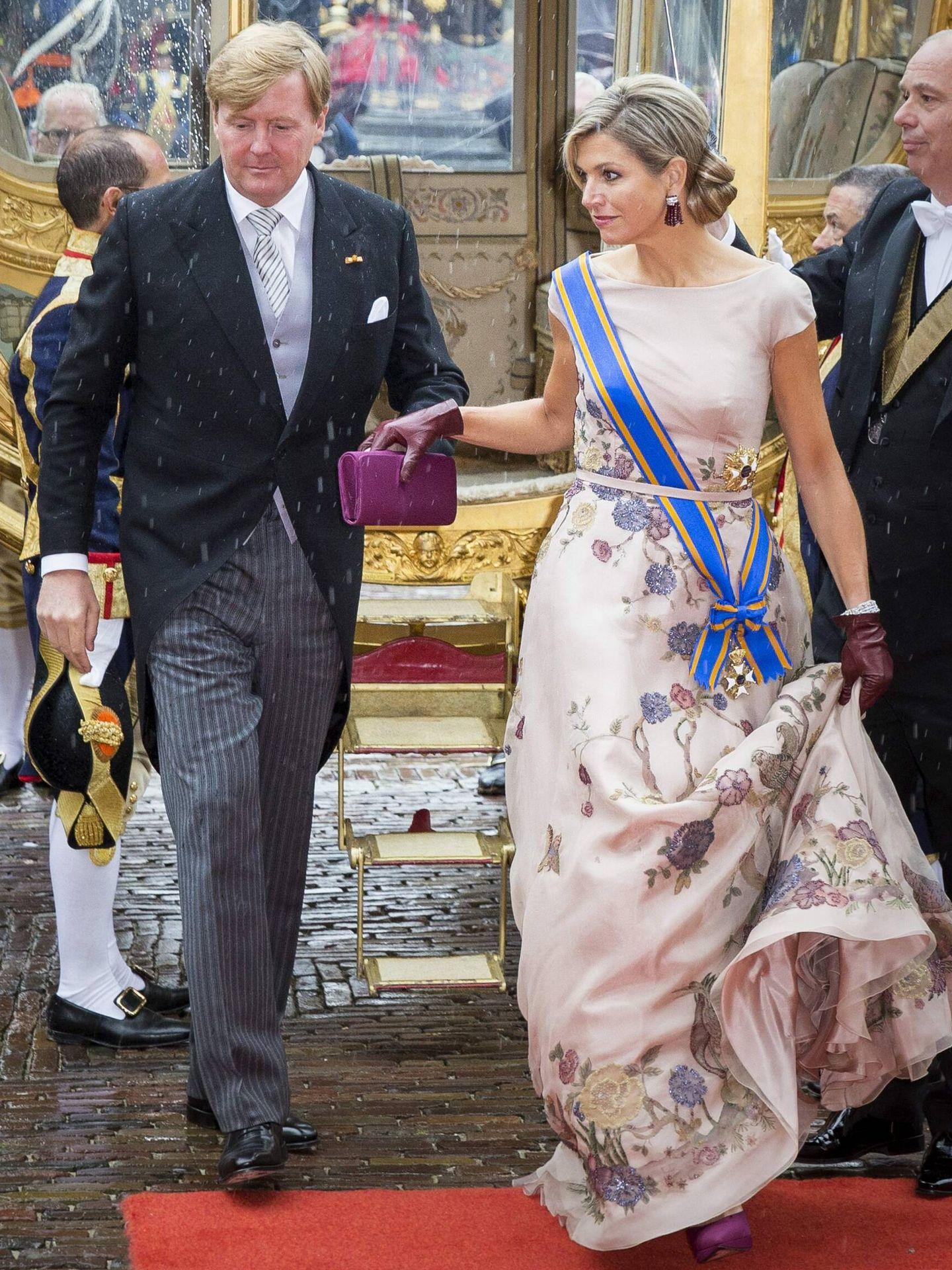 Los reyes de Holanda, en el Prinsjesdag de 2015. (CP)