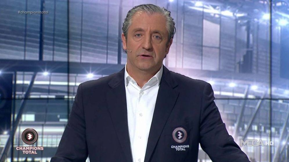 Foto: El presentador Josep Pedrerol. (Atresmedia)