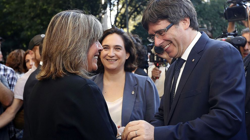 La alcaldesa de Hospitalet pide a Puigdemont que deje tranquilos a los alcaldes