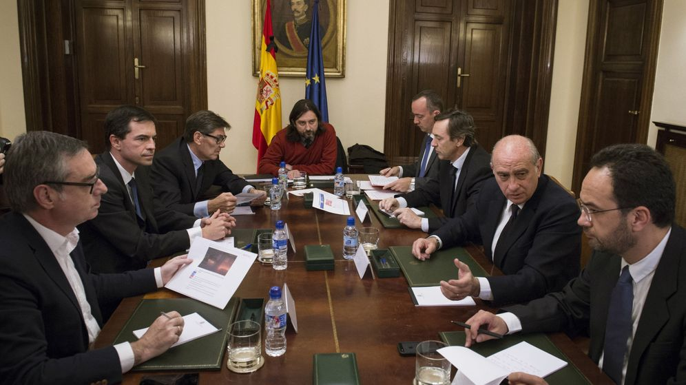 Tiroteo interior ratifica la unidad antiterrorista ante Gobierno de espana ministerio del interior