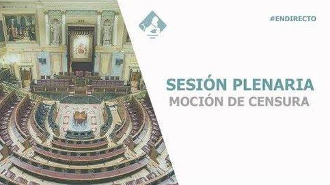 Siga en directo la moción de censura a Rajoy: jornada de tarde