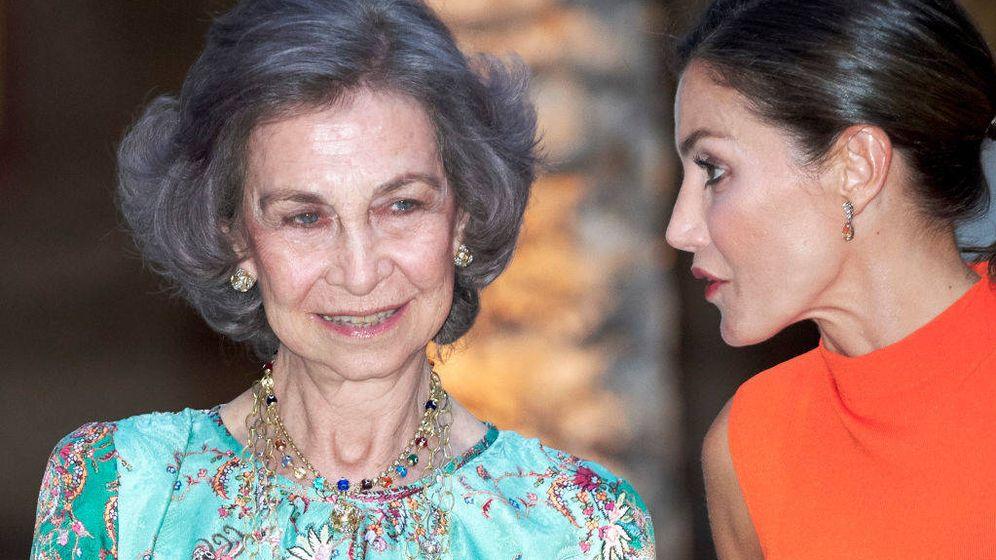 Foto: Las reinas Sofía y Letizia, en una imagen de archivo. (Getty)