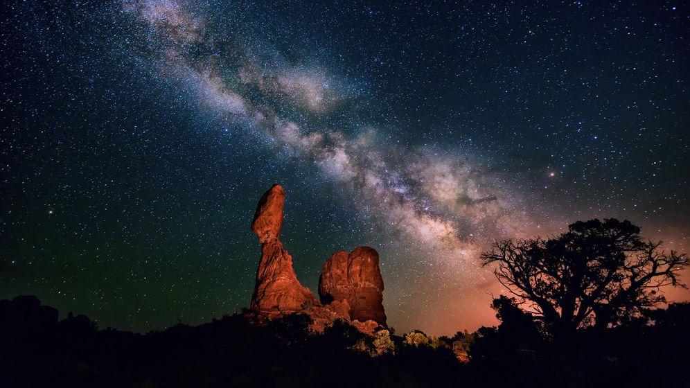 Foto: El Universo en una taza de café: Las luces del cielo
