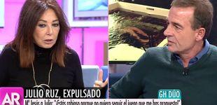 Post de Ana Rosa increpa a Lequio por creer excesiva la expulsión de Julio Ruz