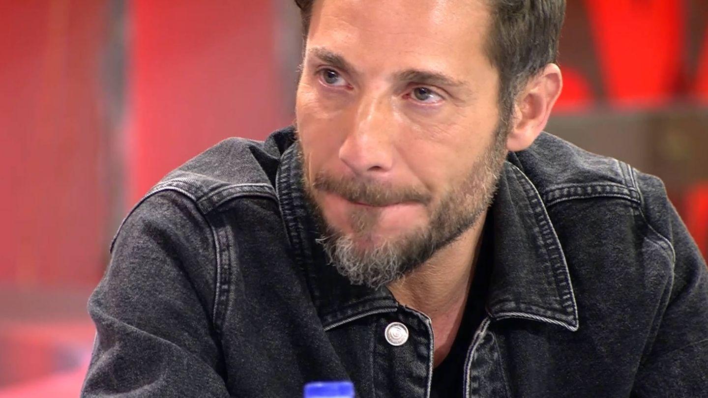 Antonio David Flores, en su último día como colaborador de 'Sálvame'. (Mediaset)