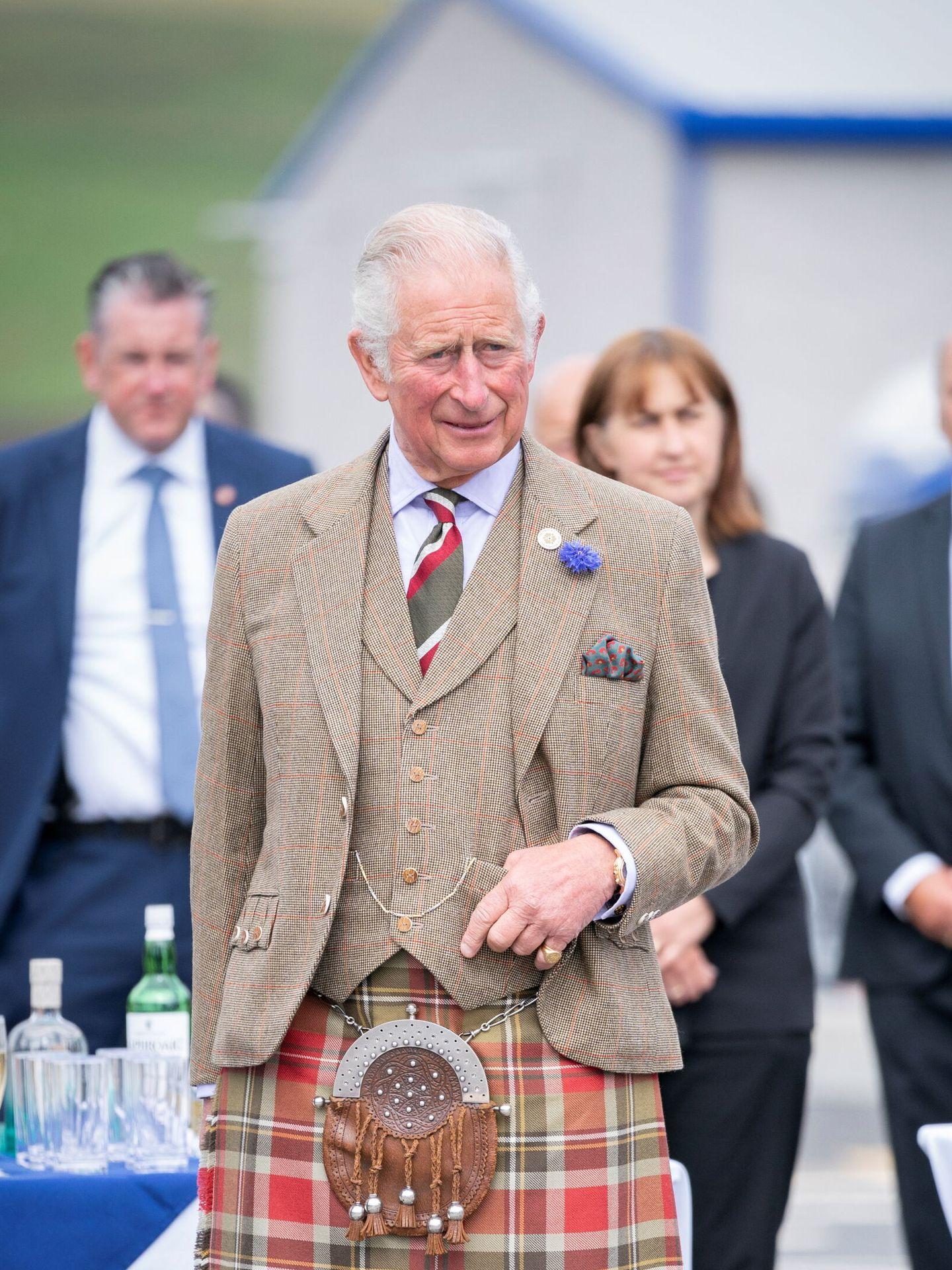 El príncipe Carlos, en una imagen reciente en Escocia. (Reuters)