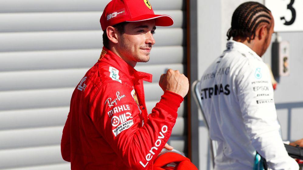 Foto: Tercera pole de Leclerc en su carrera. (Reuters)