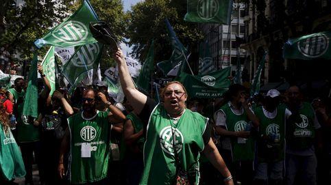 Dentro de la primera huelga contra Macri: sindicatos toman Buenos Aires