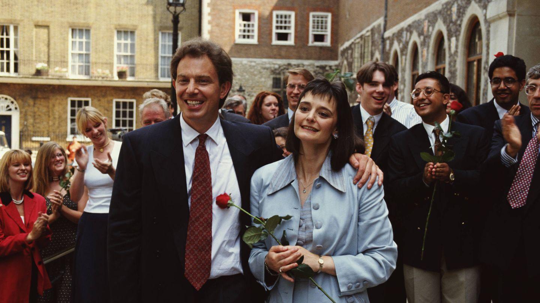 El que fuera líder laborista y su esposa, en una imagen de 1994. (Getty)
