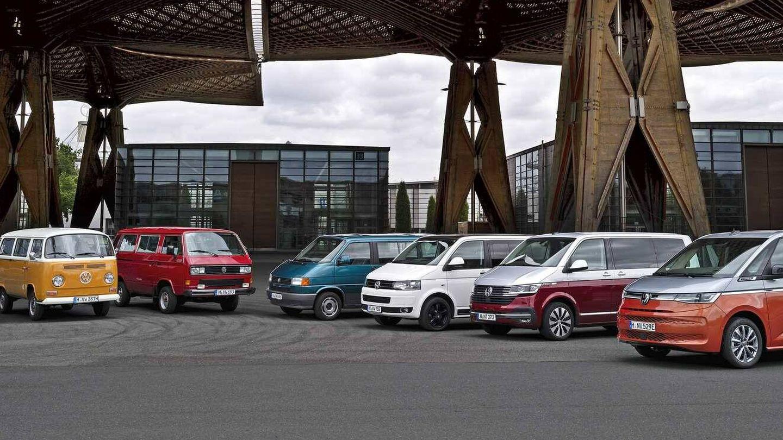 En la feria se darán cita unidades de las siete generaciones del Transporter, del legendario Bulli al último Multivan.