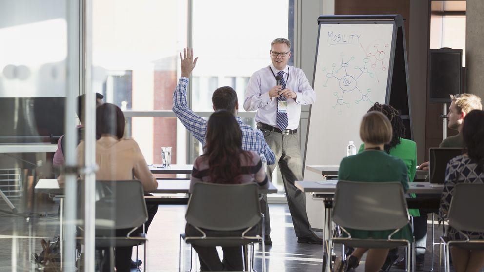 Foto: El 'coaching' se ha puesto de moda en las empresas pero ¿cuál es su verdadera intención? (Corbis)