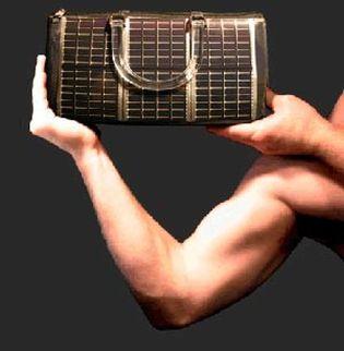 Foto: El bolso solar, donde se unen la moda y la tecnología