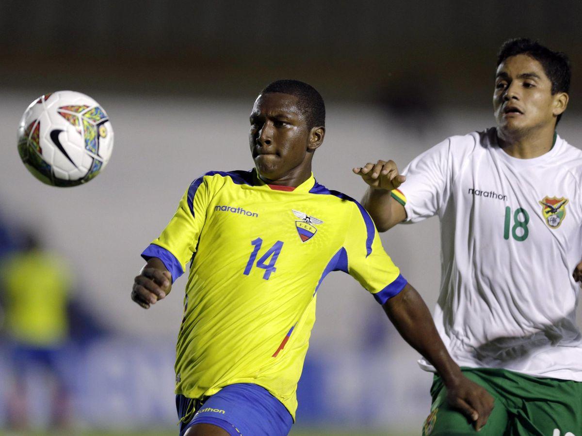 Foto: Muere el futbolista ecuatoriano Edison Realpe a los 23 años. (Efe)