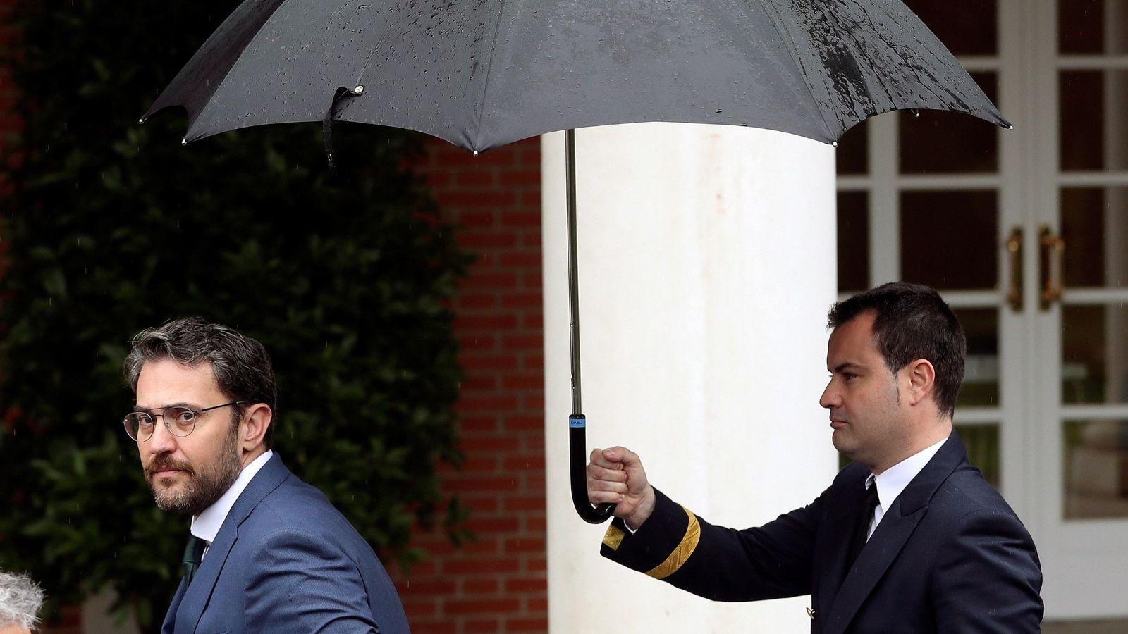 Foto: Màxim Huerta, a su llegada el pasado 8 de junio a su primer Consejo de Ministros. (EFE)