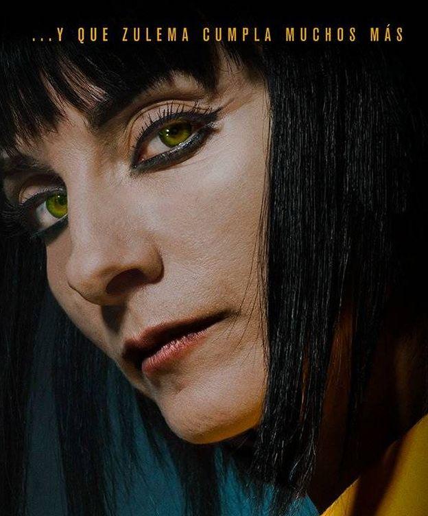 Foto: Póster de Zulema en la tercera temporada de 'Vis a vis'. (Fox)