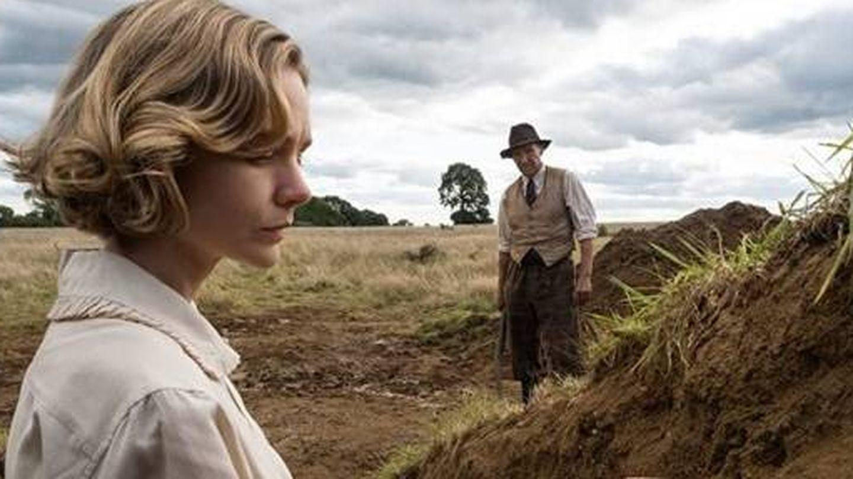 Carey Mulligan en 'La excavación', adaptación de la novela de John Preston. (Netflix)