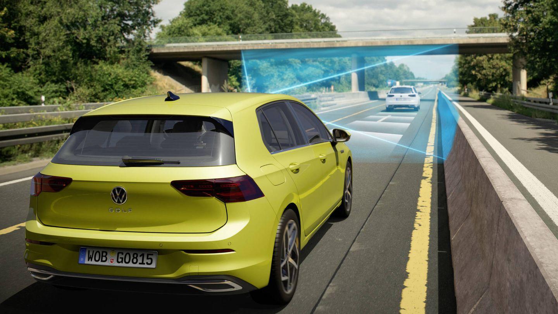 Mediante Car2X el nuevo Golf 'hablará' con otros coches y con las infraestructuras.