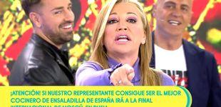 Post de Belén Esteban se la lía a su director por una inesperada encerrona de 'Sálvame'