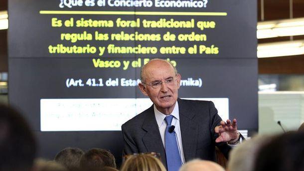 Foto: El ex CEO y ex vicepresidente de BBVA, Pedro Luis Uriarte. (EFE)
