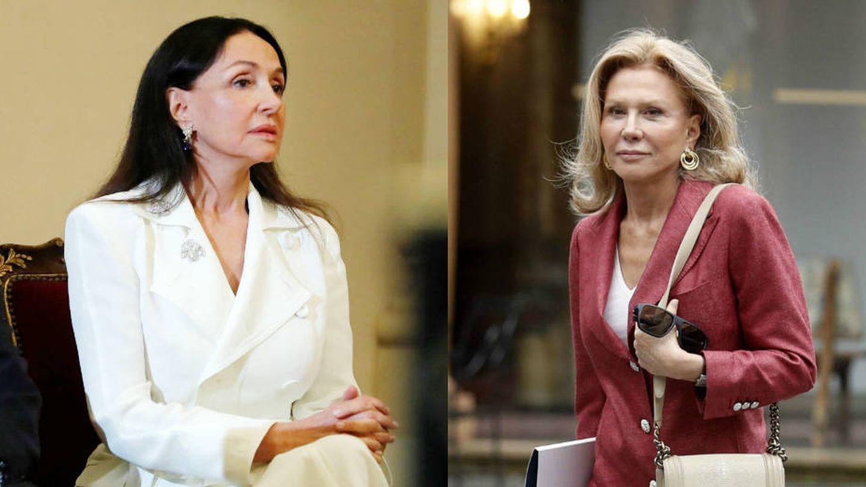 Esther y Alicia Koplowitz. (EFE)