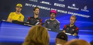 Post de El pique de Alonso y Magnussen, o por qué la F1 también es cuestión de testosterona
