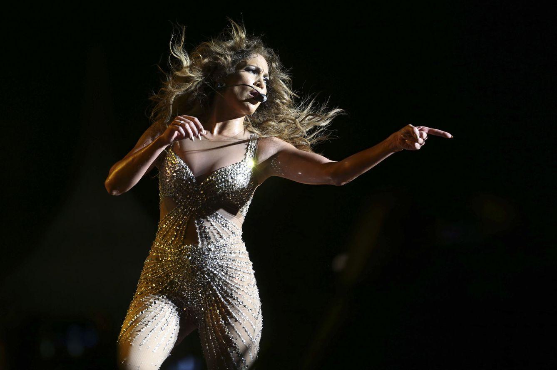 Foto: Jennifer López en concierto