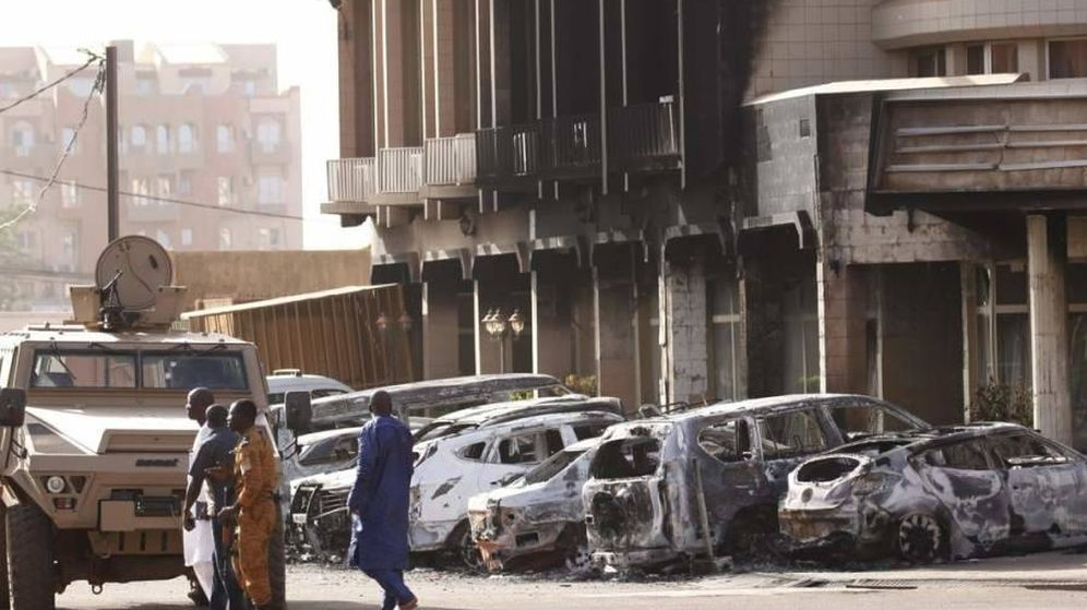 Foto: Foto: Fuerzas de seguridad de Burkina Faso.
