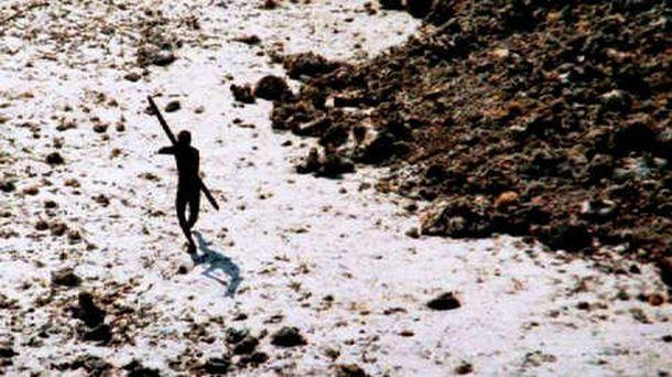 Foto: Tras el tsunami de 2004, los sentineleses dejaron claro que no querían visitas.