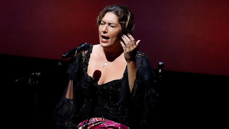 Estrella Morente, en un concierto en octubre. (EFE)