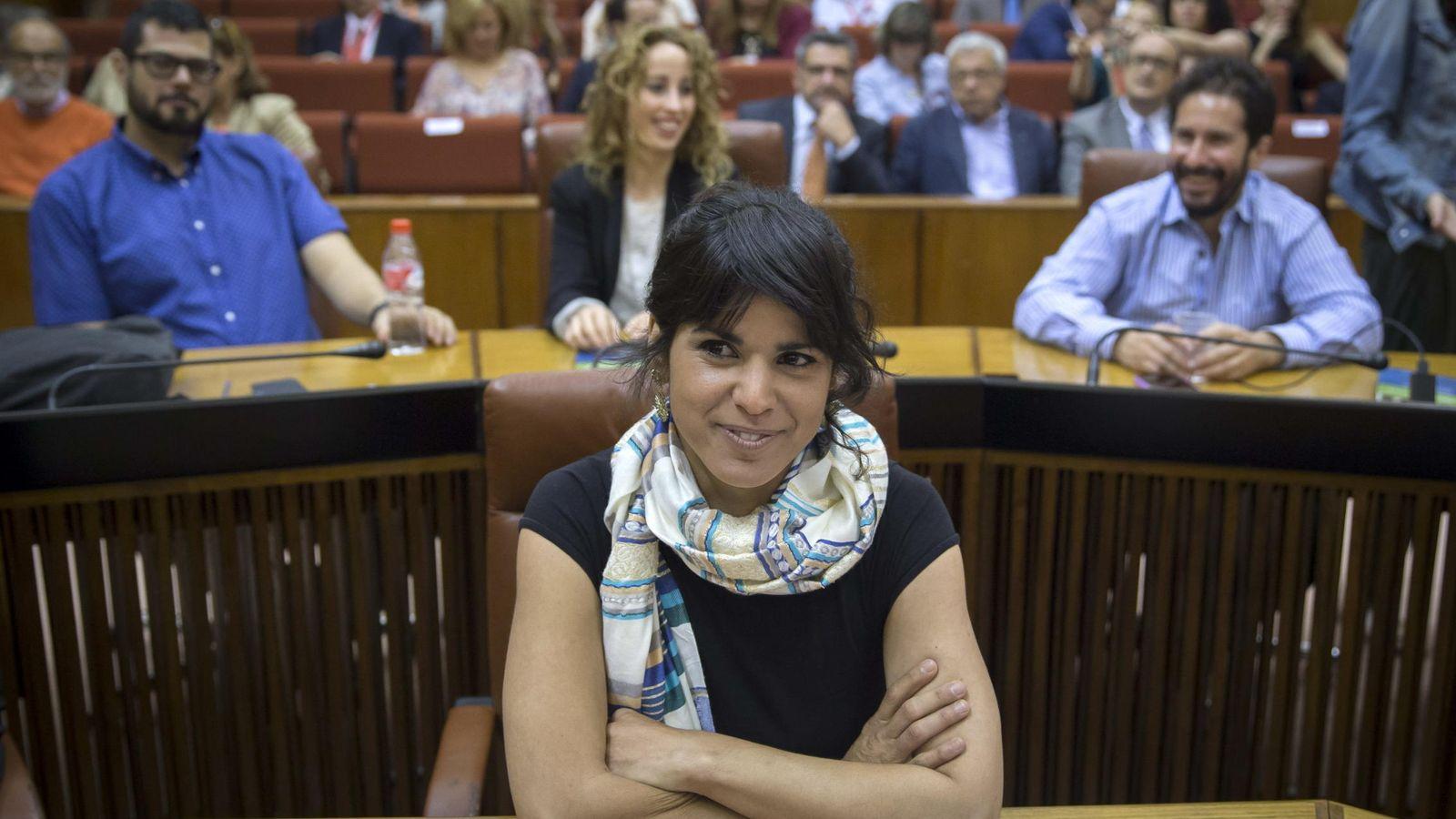 Foto: La secretaria general de Podemos en Andalucía, Teresa Rodríguez (EFE)