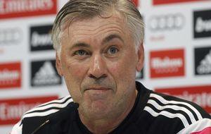 Ancelotti deja claro que no quiso provocar a Luis Enrique
