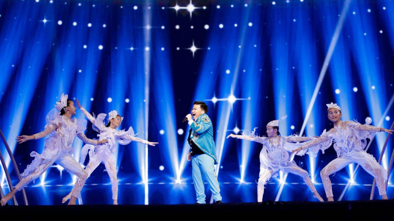 Yerzhan Maxim, representante de Kazajistán. (Thomas Hanses/EurovisionJunior.TV)