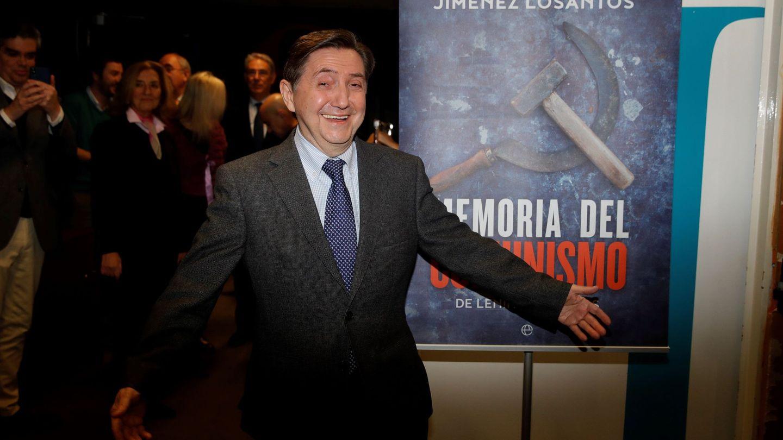 Federico Jiménez Losantos en la presentación de su libro. (EFE)