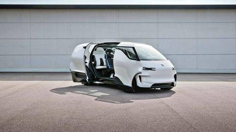 Porsche diseña una furgoneta autónoma para uso familiar