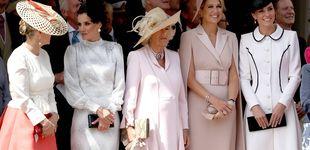 Post de Dos reinas, dos duquesas y una condesa: Letizia y Kate Middleton juntas en la Jarretera