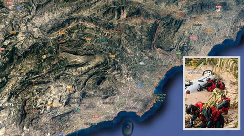 El cuerpo hallado en la Marina Baixa es el del hombre desaparecido por el paso de Gloria