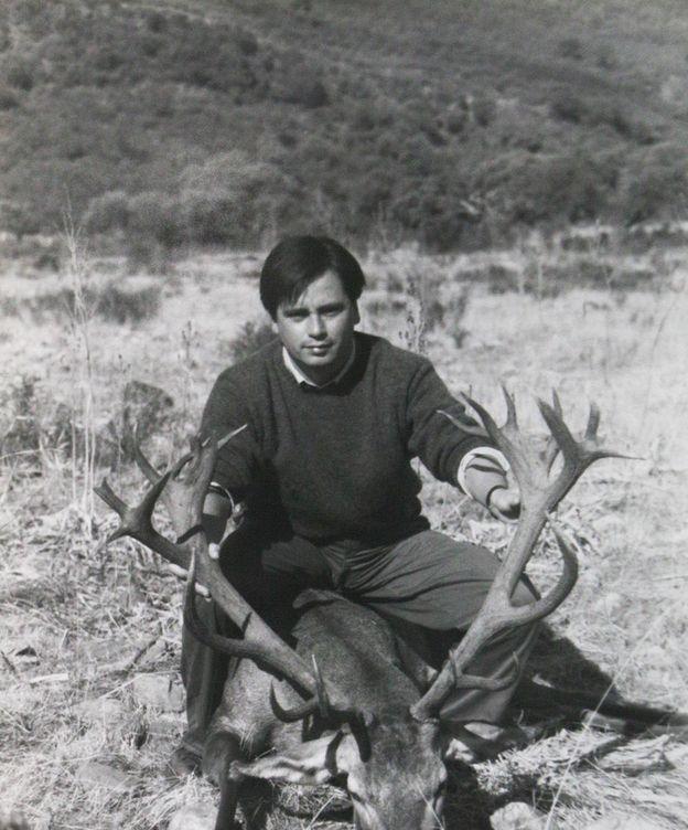 Foto: José María Aristrain de la Cruz, en su finca de caza en Cáceres.