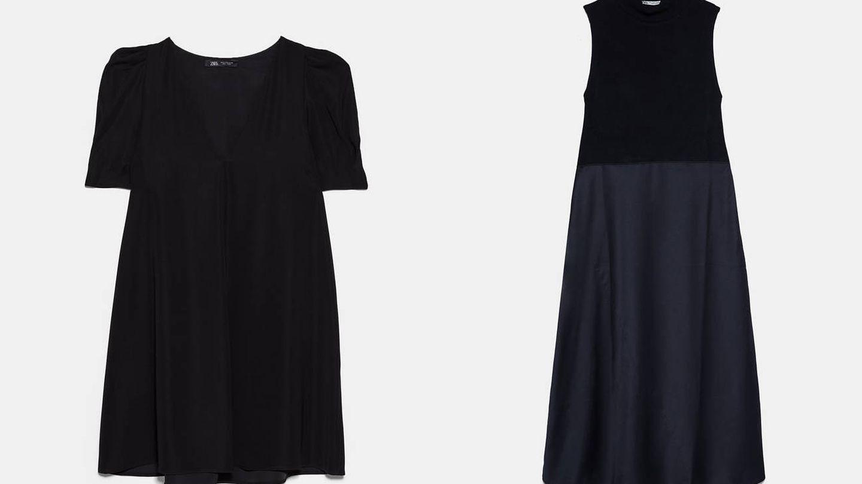 Vestidos negros.