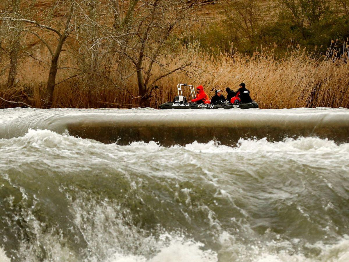 Foto: Río Ebro a su paso por Navarra. (EFE)