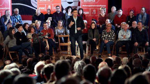 Sánchez carga contra las élites y hace pedagogía sobre pensiones... y sobre el 155