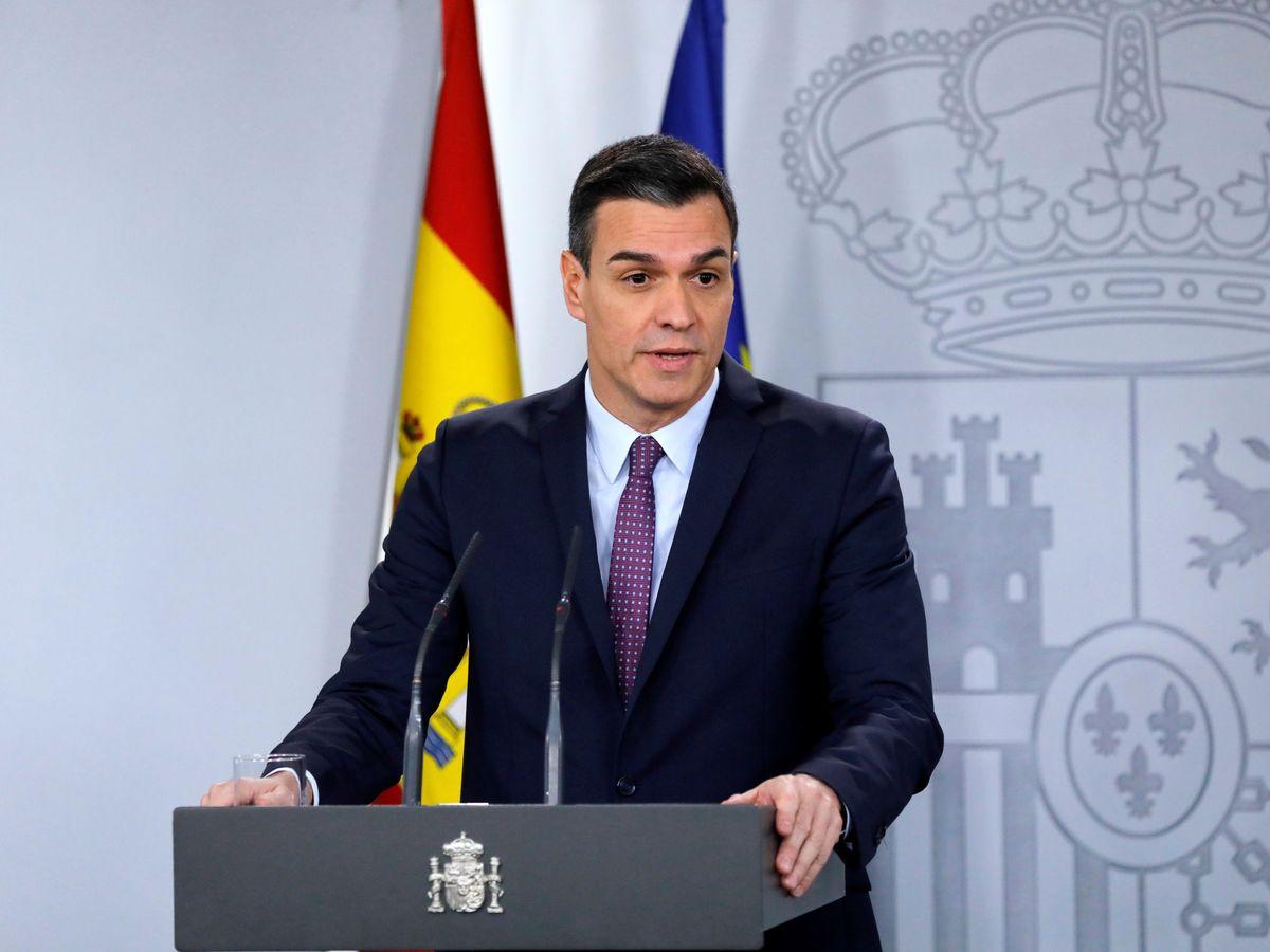 Foto: El presidente del Gobierno, Pedro Sánchez, en su primer Consejo de Ministros. (Reuters)