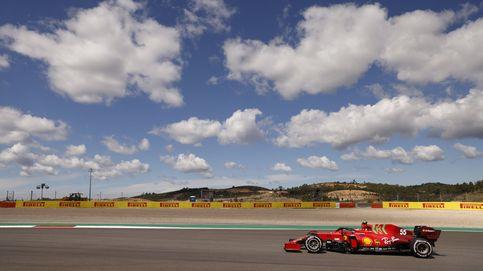 Optimismo para Sainz (4º) y Alonso (5º) en Portimao: Hamilton comienza por delante