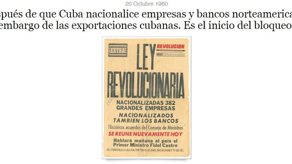Cronología de medio siglo de tensión entre Cuba y Estados Unidos