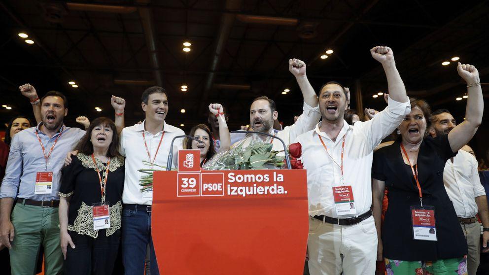 La nueva ejecutiva de Sánchez recibe el castigo del 30%, más del doble que en 2014