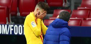 Post de Casi 34 años, lesión de rodilla, contrato hasta 2024... el Barça tiene un problema con Piqué