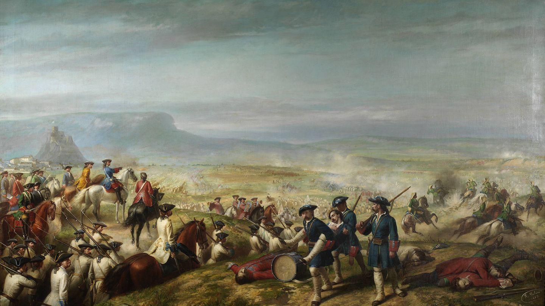 Batalla de Almansa. (Wikimedia Commons)