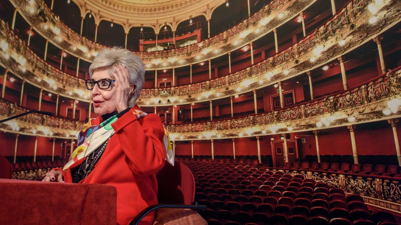 Concha Velasco, en el teatro Arriaga de Bilbao. (EFE)