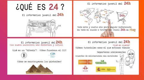 El canal 24 Horas prepara '2.4', un nuevo informativo dirigido a los jóvenes
